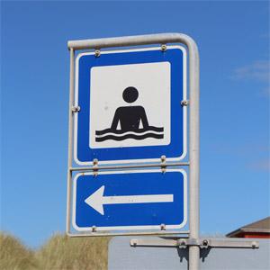 Badestrande i nærheden af Thyborøn