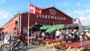 Fiskehallen - fiskerestaurant i Thyborøn