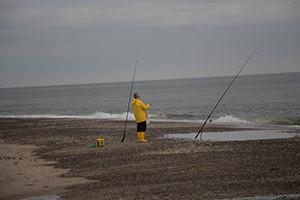 Harboøre Tange byder på godt fiskeri
