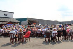 Fiskedag i Thyborøn – havnefest på kajen